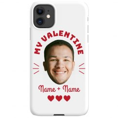 My Valentine Custom Photo Phone Case