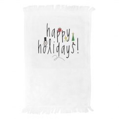 Happy Holidays Towel