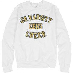 Jr Varsity White CBHS Cheer Sweatshirt