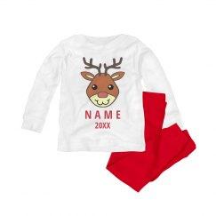 Rudolph Xmas Pajama for Baby