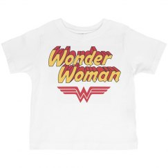 Wonder Girl Toddler Tee