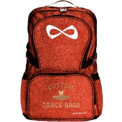 Custom Dance Bag Metallic Lettering