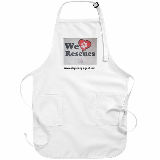 DHO Apron We Love Rescues