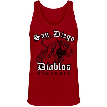 Diablos Baseball Fan