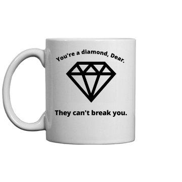 Diamond Coffee Cup