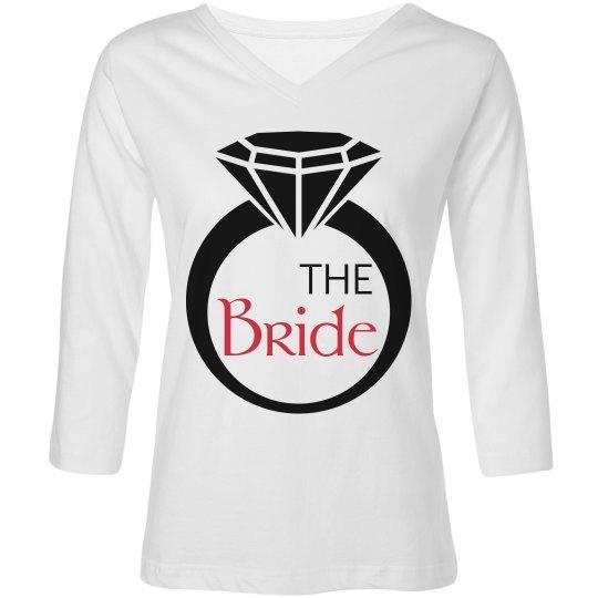 Diamond Ring Bride Shirt