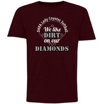 Diamonds-Youth Maroon