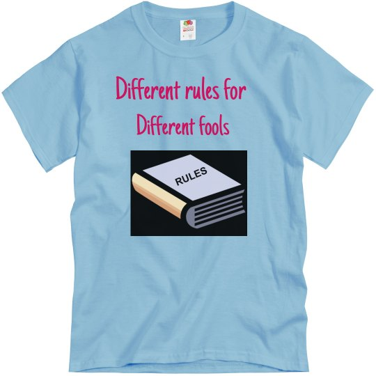 Different rules
