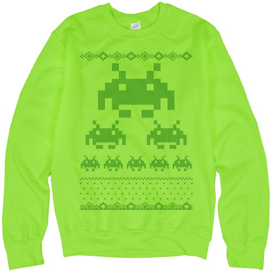Digital Monsters Sweater