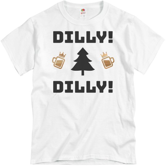 Dilly Dilly Metallic Christmas Drinking