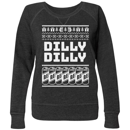 Dilly Dilly Ugly Christmas Sweater Plus