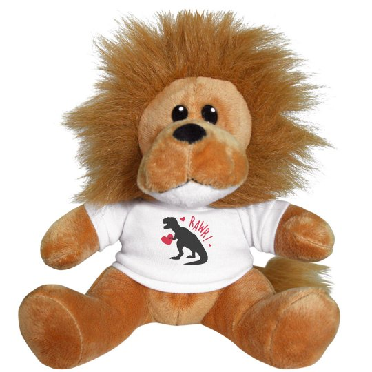 Dino Dad (Dezi lion stuff animal)