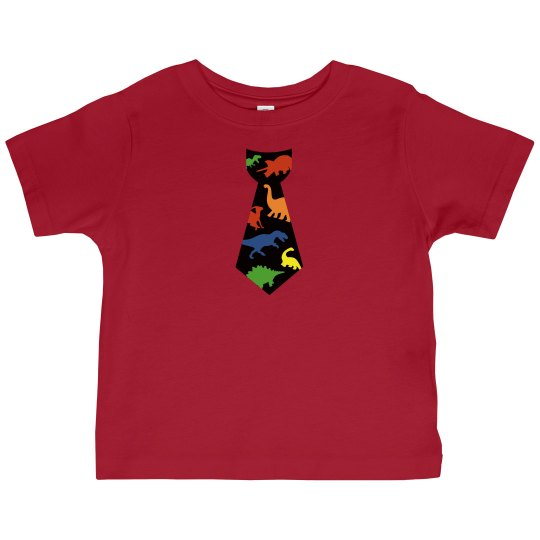 Dino-phisticated Toddler Tee