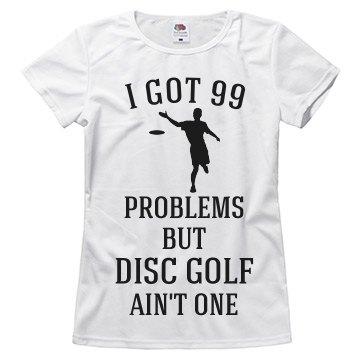 Disc golf ain't one