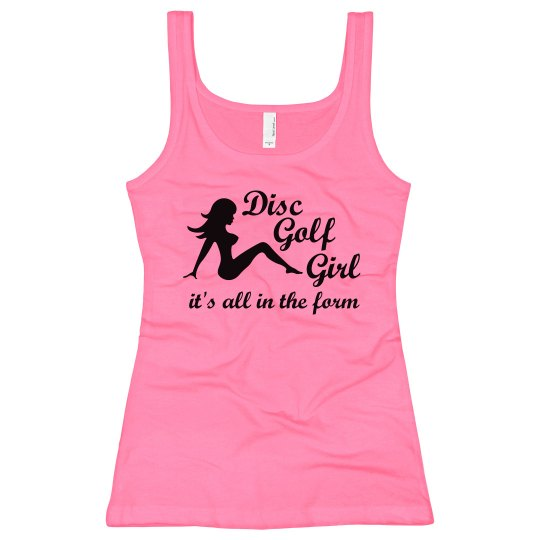Disc Golf Girl