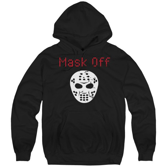 Distressed Mask Off Hoodie