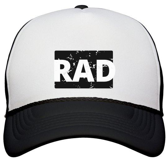 Distressed Rad Hat