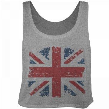 Distressed UK Flag