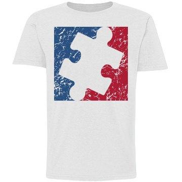 Distressed Youth Major League AUTISM Logo Shirt