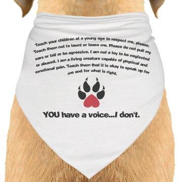 Dog Advocacy Bandana