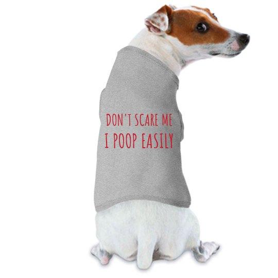 Dog Poops Easily