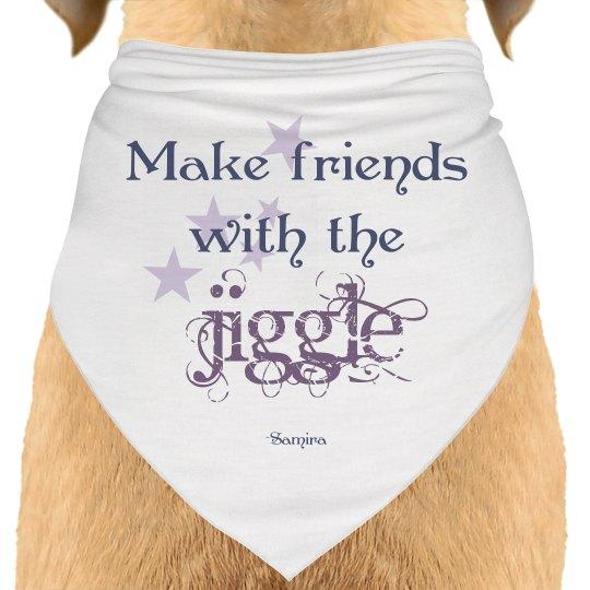 Doggie scarf!