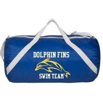 Dolphin Swim Bag