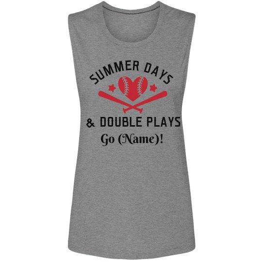 Double Plays Baseball Mom
