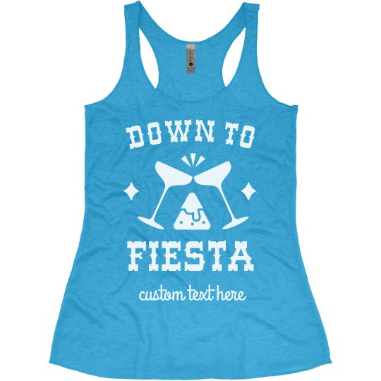 Down to Fiesta Funny Cinco De Mayo Tank