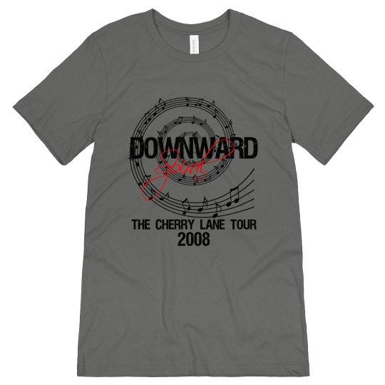 Downward Spiral Band Tee