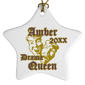 Drama Queen Ornament