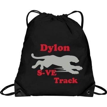 draw string track bag
