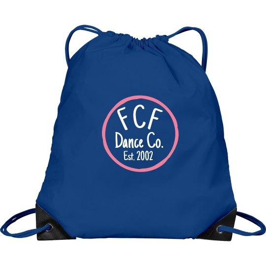 Drawstring dance bag