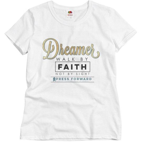 Dreamer matching women's shirt