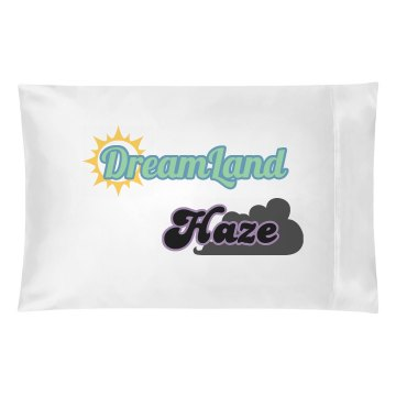 DreamLand Haze Pillow with sun
