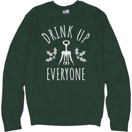 Drink Up Christmas Wine