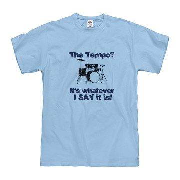 Drum T-shirt Blue