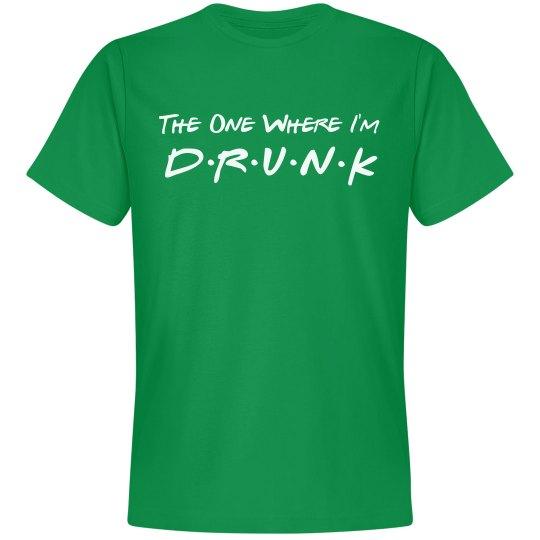 Drunk Friends Green St. Patrick's