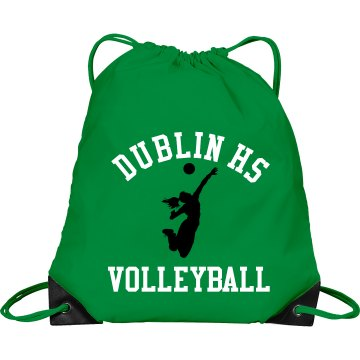Dublin HS Volleyball Bag