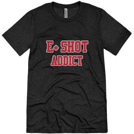 E+ Shot Addict Men's Tee