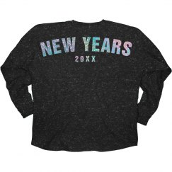 New Years Glitter Shirt