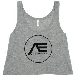 AlterEgo Logo Crop Top