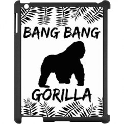Bang Bang Gorilla iPad Case