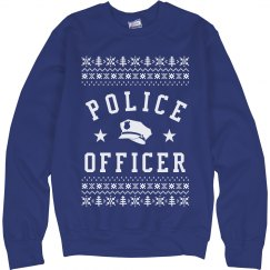 Ugly Sweater For Police Officers