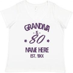 Custom Grandma Is Turning 80