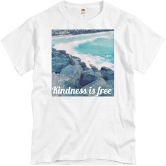 Kindness is free Wave & rocks