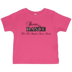 Toddler Born to Dance