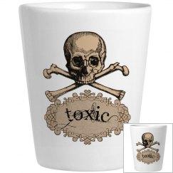 Toxic Skull & Crossbones
