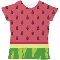 Watermelon Halloween Fruit Costume