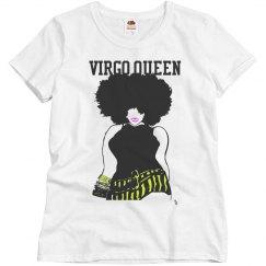 virgo queen afro